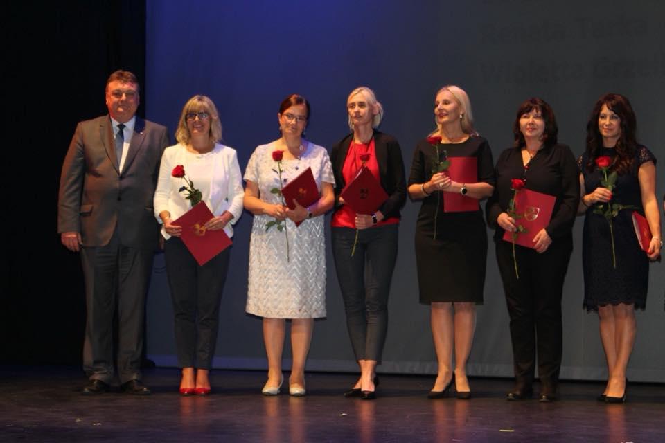 Nagrody dla wyróżnionych nauczycieli